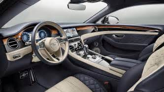 2018 bentley continental gt revealed the world s most luxurious gt car motoring research