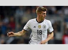 World Cup 2018 Qualifiers Germany midfielder Kroos to