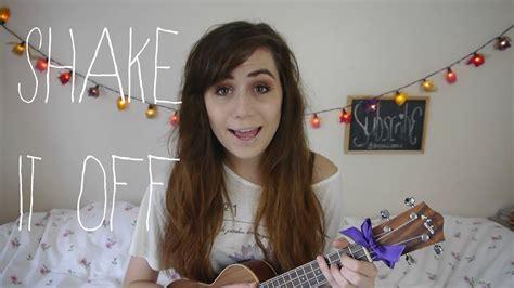 taylor swift shake   ukulele cover youtube
