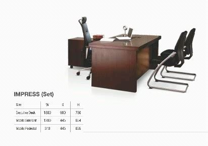 Office Furniture Prices by Godrej Office Furniture Table Impress Set At Rs 59009