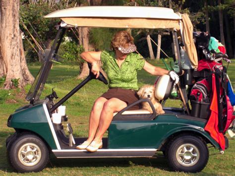 dogs golf carts woodlands residents