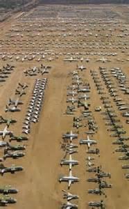 Abandoned Military Plane Graveyard