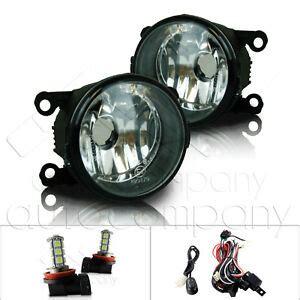 For Ford Mustang Fog Lights Wiring Kit Led