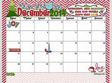 Printable December Calendar 2018 Kids Printable Monthly