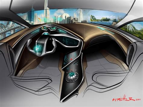 car interior design nissan 2025 interior concept car design