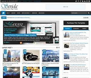 sevida blogger template 155 full version with latest With free blogger templates with slider