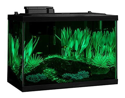 Tetra 20 Gallon Complete Aquarium Kit w/Filter Heater LED