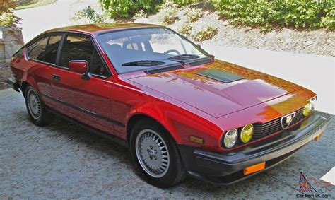 Alfa Romeo 1986 by 1986 Alfa Romeo Gtv 6 2 5 Coupe 2 Door 2 5l