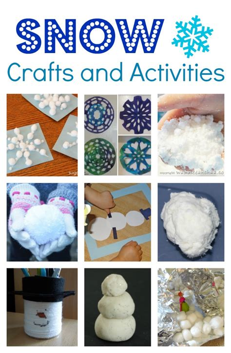 snow activities for preschool snow crafts and activities for coffee cups and crayons 242