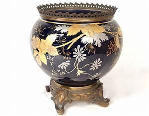 Cache Pot Doré : cache pot jardini re porcelaine limoges dorure bronze napol on iii xix me ebay ~ Teatrodelosmanantiales.com Idées de Décoration