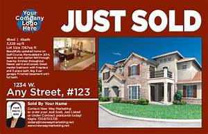 Just sold postcard verbiage arts arts for Real estate just sold flyer templates