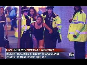 Ariana Grande concert explosion at Manchester | At least ...