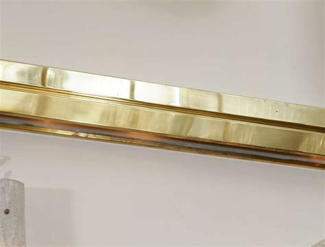 brass horizontal wall mounted light fixture at 1stdibs