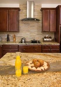 Backsplash For Yellow Kitchen Yellow River Granite And Backsplash Idea Decor Yellow River Granite And Granite