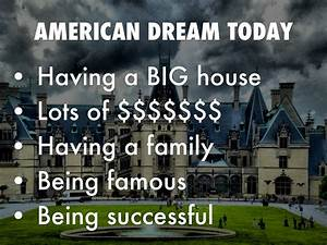 The American Dream…it is simply not true. - One Yoga