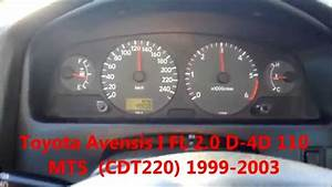 Toyota Avensis T22 2 0 D4d 1cd