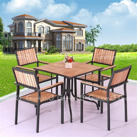 high quality outdoor solid teak wood outdoor furniture