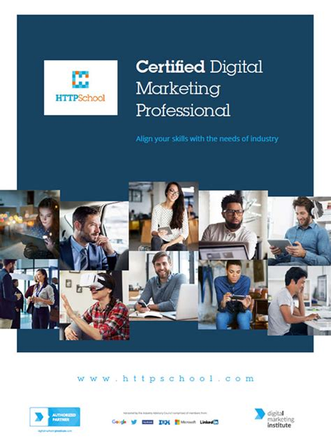 certified marketing professional digital marketing courses for new media professionals