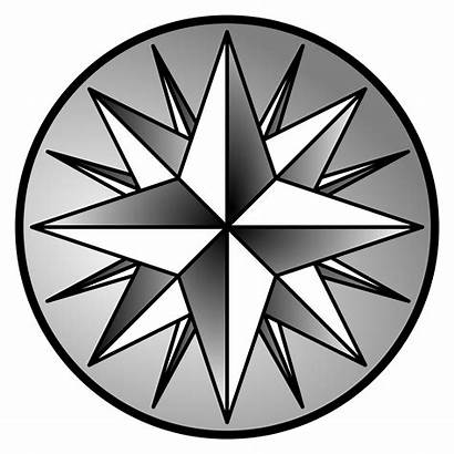 Compass Rose Wind Clip Clipart Pdf Seal
