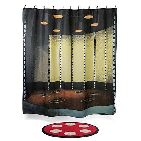 trek transporter room bath mat shower curtain set