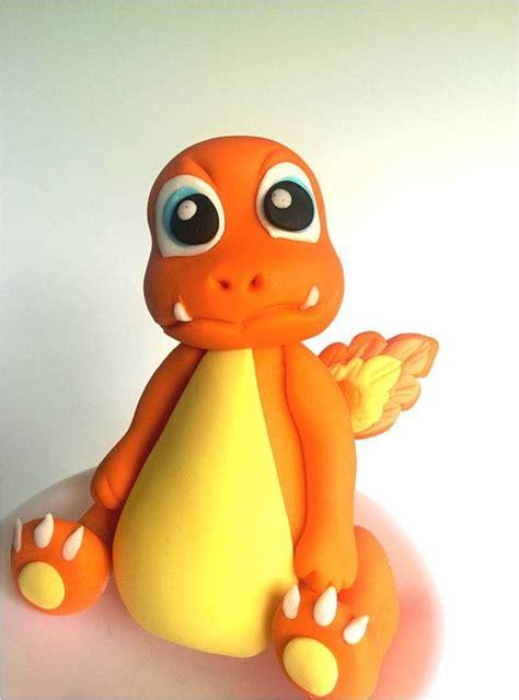 pokemon charmander fondant cake topper