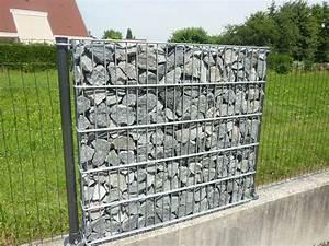 Mur En Gabion : grillage rigide pour gabion ~ Premium-room.com Idées de Décoration