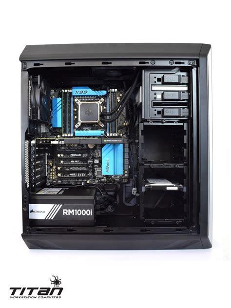 v4 workstation xeon e5 titan x199 cores pc broadwell intel ep 3d drive 2tb modeling