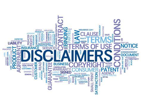 legal disclaimer clayton mcculloh