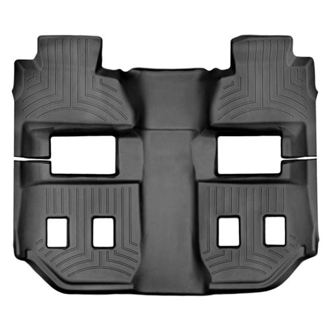 weathertech floor mats chevy suburban weathertech floorliner black for chevrolet suburban 2015