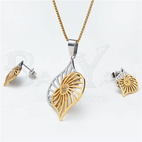 buy gold plated stainless steel leaf