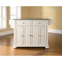 kitchen island cart with stainless steel top solid granite top kitchen island alexandria rc willey 9799
