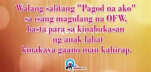 Tagalog OFW Quo... Walang Tulog Quotes