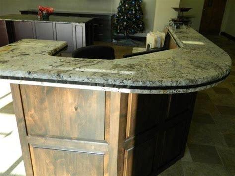 custom made reception desk by age granite