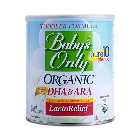 Lactorelief Toddler Formula By Babys Only Organic