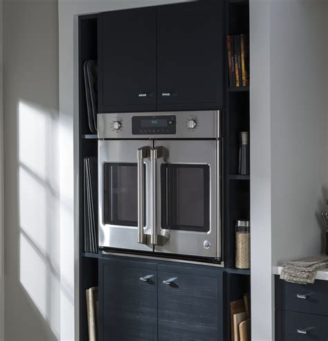 ge cafe series  built  french door single convection wall oven ctshss ge appliances