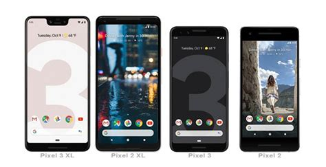 pixel 3 pixel 3 xl now official specs and