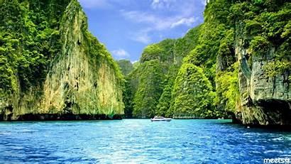 Bay Thailand Islands Phuket Maya Wallpapers Island
