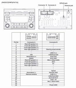 Kia Optima  Audio Unit  Components And Components Location