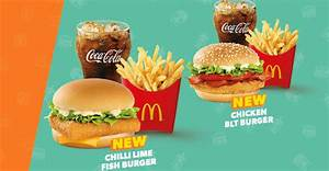 McDonald's launches new Chilli Lime Fish Burger and ...