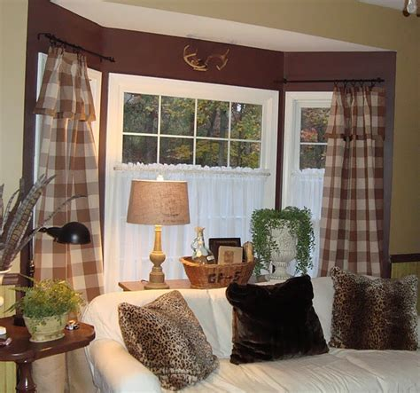 17 best ideas about bay window curtains on bay