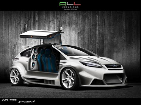 Ford Focus Extrem Getunt by Ford Focus Biancoperla Wtb2010 By Lazzituning On Deviantart