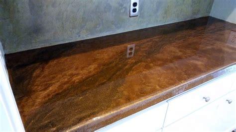 Metallic Epoxy Countertops Artisan Concrete & Surfacework