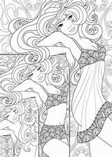Coloring Mirror Scrapbook раскраски для печати Adult Getdrawings Getcolorings Printable sketch template