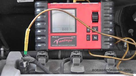 test camcrank actuator solenoids p p