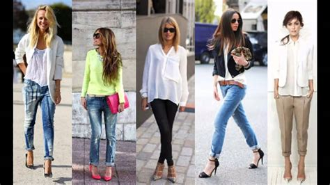 Outfits casuales con jeans verano - YouTube