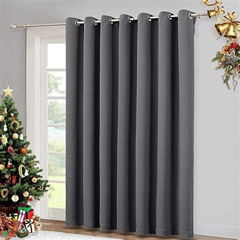 drapes sliding patio doors nicetown patio sliding door curtain wide blackout