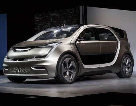 2017 New Electric Cars by Fiat Chrysler Debut Concept Electric Minivan At Ces 2017