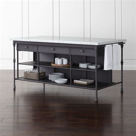"French Kitchen 72"" Large Kitchen Island   Reviews   Crate"