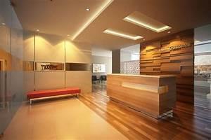 Minimalist Office Lobby Interior Design | s | Pinterest ...