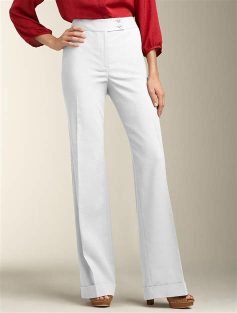 Talbots - Hollywood Fit Linen Blend Pant | Find your Fit ...